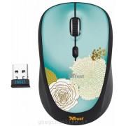 Trust 19521 Mouse Wireless Yvi Flower