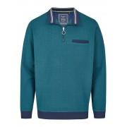 Hajo Sweatshirt Hajo blau-grün