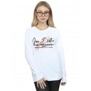 Absolute Cult Joe Exotic Women's Pour Le Président Sweatshirt Blanc Small