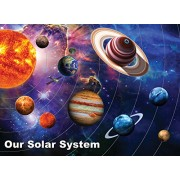 White Mountain Puzzles Solar System Jigsaw Puzzle (300 Piece)