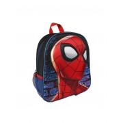 Spiderman Mochila niño efecto 3D asas ajustables negro