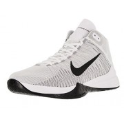 Nike Men s Zoom Ascention Basketball Shoe White/Black/Wolf Grey/Stealth 10 D(M) US