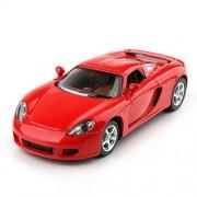 Kinsmart Porsche Carrera GT Die Cast Car with Openable Doors, Multi Color