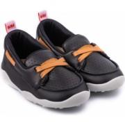 Pantofi Baieti Bibi Fisioflex 4.0 Black/Brandy 20 EU