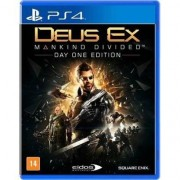 Jogo - Deus Ex: Mankind Divided - Ps4 - Unissex