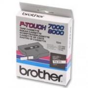 Banda continua laminata Brother TX451, 24mm, 15m
