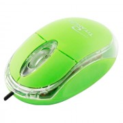 Mouse Esperanza Titanum TM102G cu fir optic USB verde