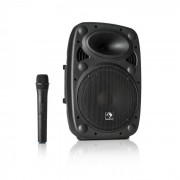 "Auna Streetstar 10 Mobile Equipo PA 10"" (25,5cm) Woofer Micro UHF 400 W máx. (Sky2-199.508)"