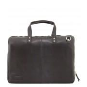 Plevier Crossbodytas Tablet Laptop Bag 802 15.6 inch Zwart