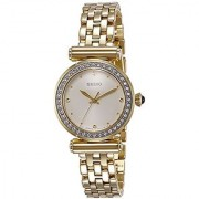 Seiko Analog White Dial Womens Watch-Srz468P1