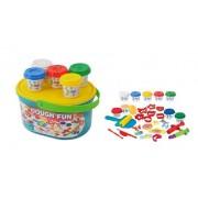 Plastelin set boje i alati, 01250178