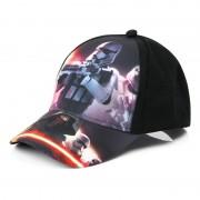 Disney Star Wars Stormtrooper kids petje/cap zwart
