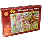 Bigjigs Toys BJ019b Fantasyland Floor Puzzle (48 Piece)