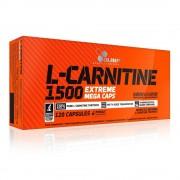 Olimp L-CARNITINE 1500 Extreme Mega Caps(R) zsírégető 120 kapszula