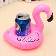 Flotador Inflable Pequeño Soporte Para Bebidas Cerveza Piscina Playa-Rosa