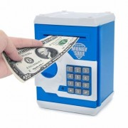 Piggy Bank Security Hlit Disney character Money Safe Password Coin Piggy Kidds Saving Bank (Multicolor Design May Very)