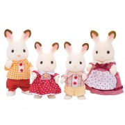 EPOCZ Sylvanian 4150 Families Chocolate Rabbit Family