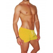 Icker Sea Tennis Side Slit Shorts Mango SHR-14-TN-04