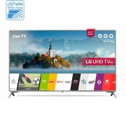 Lg 49uj651v 49'' 4k ultra hd smart tv wi-fi zwart, zilver led tv