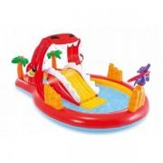 Piscina gonflabila pentru copii cu tobogan Red Dragon Intex 57160