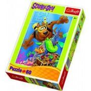 Puzzle Scooby Doo aventura de scufundare 60 pcs 17287 Trefl