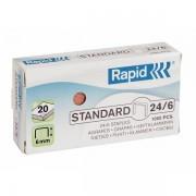 Capse 26/6, 1000 buc/cutie, RAPID Standard