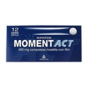 ANGELINI SpA Momentact 400 Mg Compresse Rivestite Con Film 12 Compresse