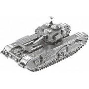 Playtastic Maquette 3D en métal : Char d'assaut - 48 pièces