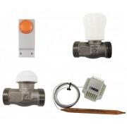 Set de reglare pentru încălzirea în pardoseală pentru încăperi cu suprafața până la 45 mp