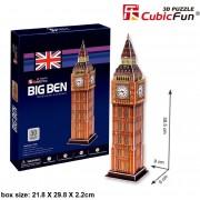 Puzzle 3D Cubic Fun - Big Ben, 30 piese (Cubic-Fun-C703H)