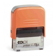Stampila dreptunghiulara Colop Printer C30 - mecanism orange