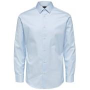 SELECTED Slhpelle Slim Fit - Skjorta Man Blå