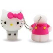 Pankreeti PKT446 Kitty Cat 128 GB Pen Drive(Pink)