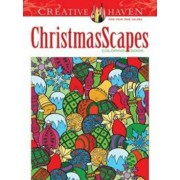 Creative Haven Christmasscapes Coloring Book, Paperback/Jessica Mazurkiewicz