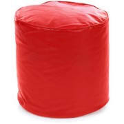 Home Story Round Ottoman Medium Size Red Cover Only