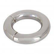Sextreme Magnetic Ball Stretcher Cock Ring Silver 0516210