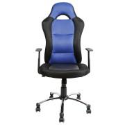CLP Sedia da ufficio Jerry, blu , blu, altezza seduta