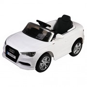 Costzon Licensed Audi A3 Kids Ride On Car 12V RC Powered Riding Toy Vehicle w/LED Light