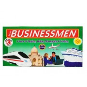 MysticPlay Senior Businessmen (Notes) A Board Game of Buying,Selling,Trading,Mortgaging with Four Games Free Inside