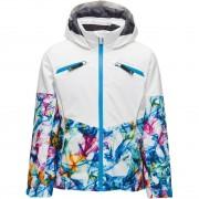 Spyder Girls Jacket CONQUER white print