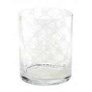 JOOP! Vase Allover Klar Glas 22 cm