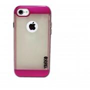 Funda Jyx Accesorios IPhone 7 Silicó Tipo Metálico - Rosa