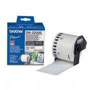 Brother Originale P-Touch QL 500 Etichette (DK-22205) bianco 62mm x 30,48m - sostituito Labels DK22205 per P-Touch QL500