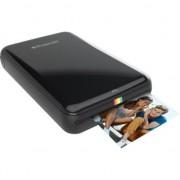 Imprimanta foto portabila Polaroid ZIP, Bluetooth, NFC, Negru, Imprimare Termica + BONUS: Set 10 coli Hartie