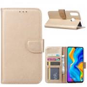Bookcase Huawei P30 Lite hoesje - Goud