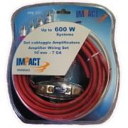 PPK100 kit cavi amplificatore Impact 600 watt