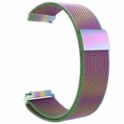 Curea metalica compatibila Huawei Watch GT Milanese Loop telescoape Quick Release 22mm Cameleon