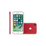 iPhone 7 Apple, 128GB, 12MP, 4G, iOS 12, Vermelho