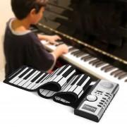 61 teclas enrollables teclado piano electrónico suave altavoces