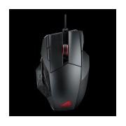 Mouse Gamer ASUS Láser ROG Spatha, RF Inalámbrica, USB, 8000DPI, Negro